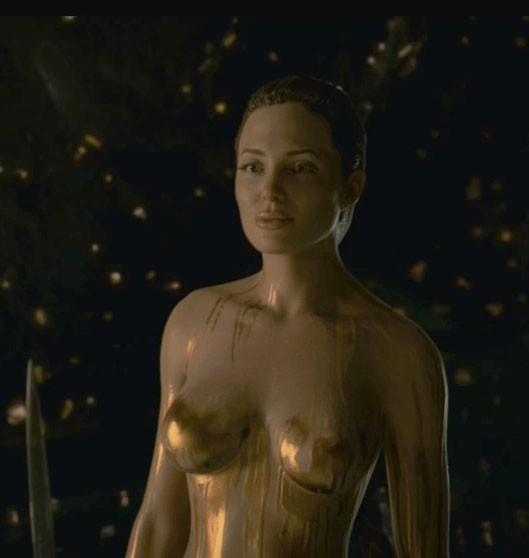 Angelina jolie nackt sexy Angelina Jolie