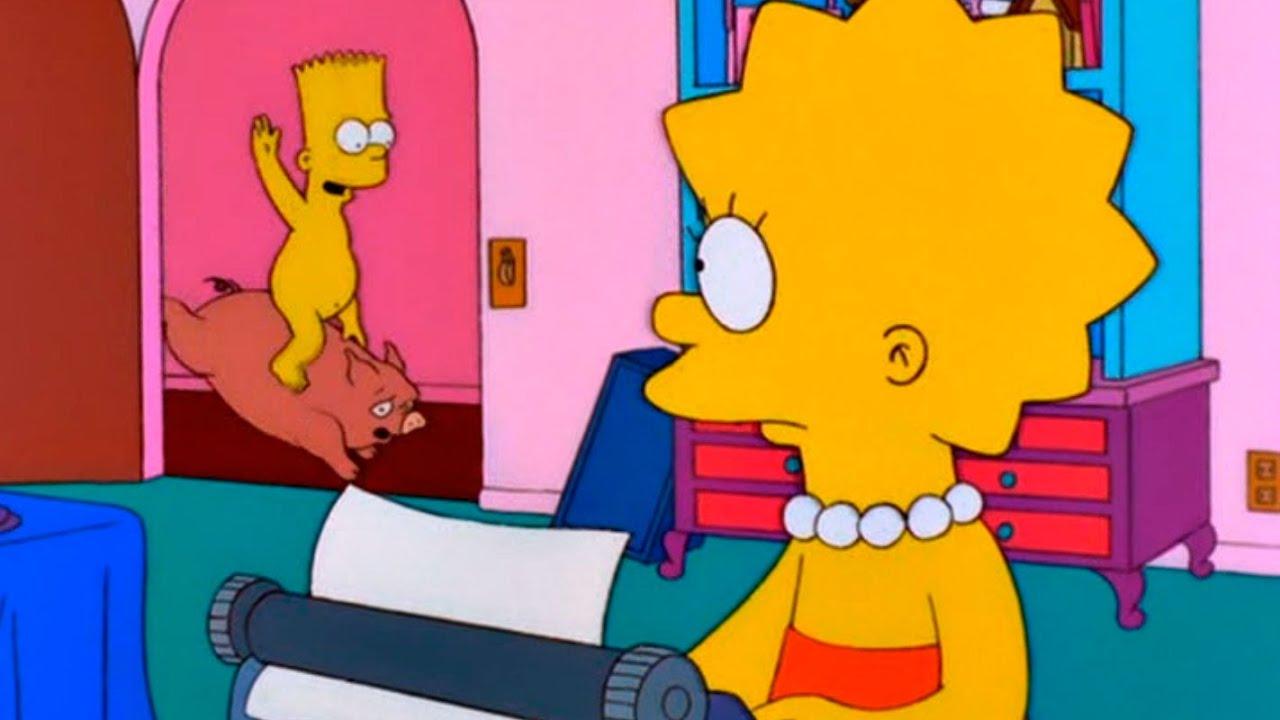 Nackt mädchen die simpsons Marge Simpson