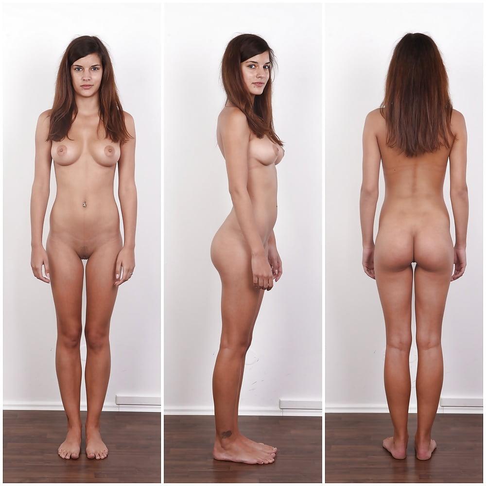 Angezogen und nackt nackte frauen Nackt und
