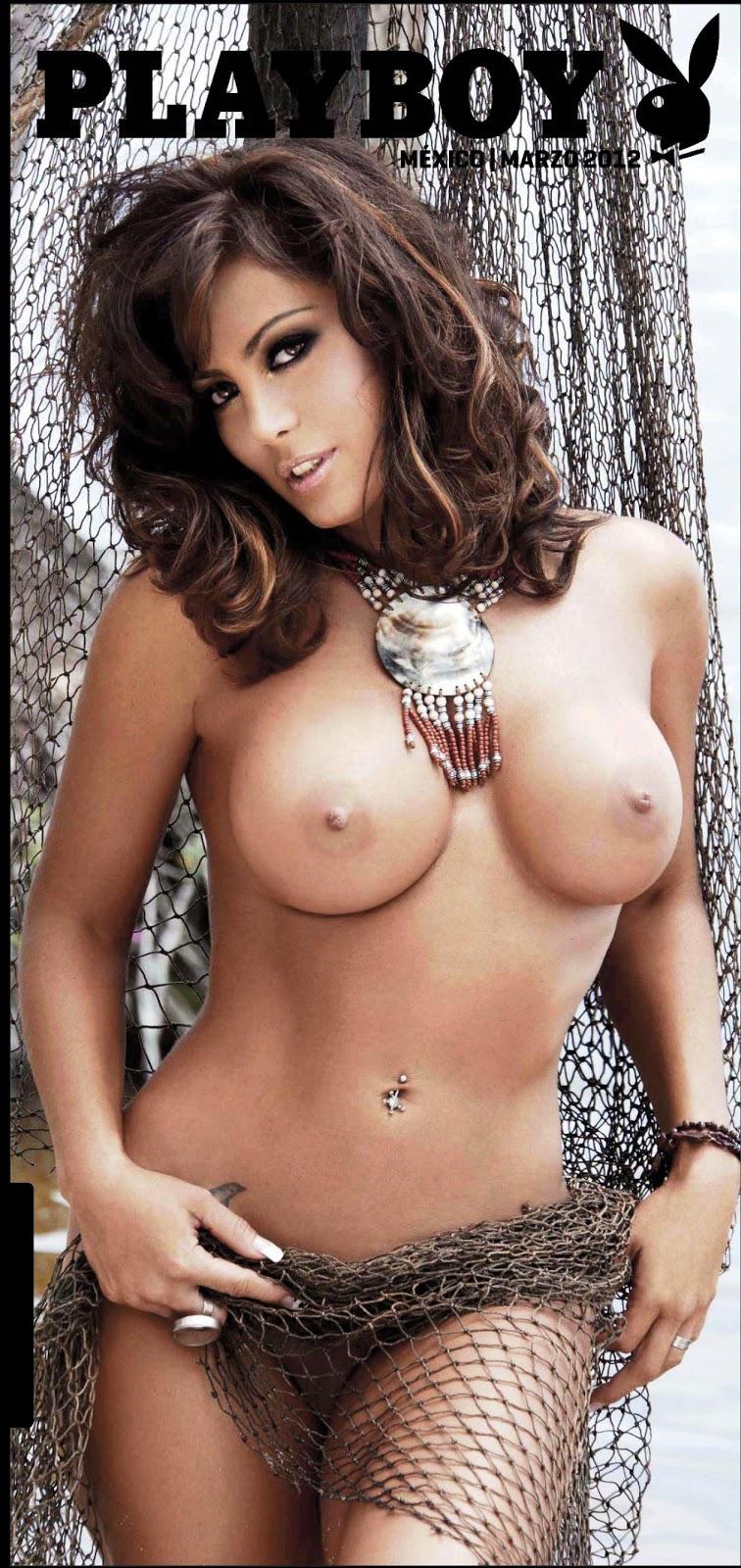 Adriana Louvier  nackt