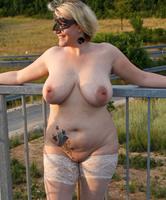 Frauen korpulente nackte Dicke reife