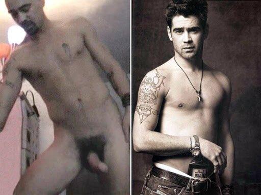 Colin nackt Farrell big penis