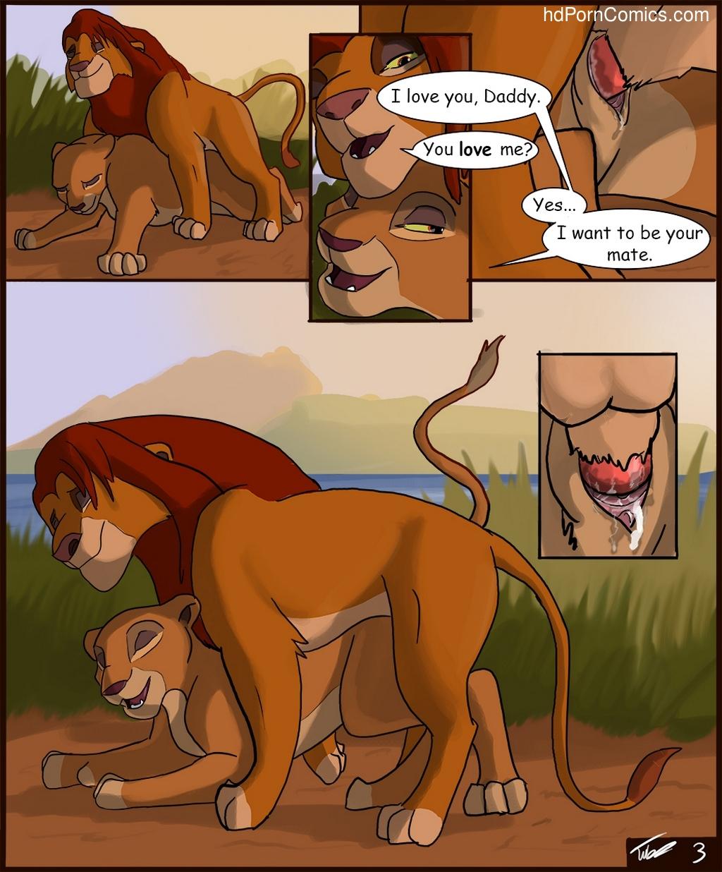 Nackt comic der löwen könig König der