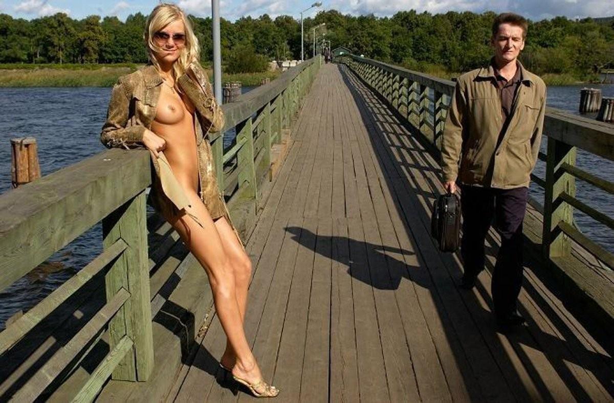 mensch mit beiden geschlechtsorganen – Pantyhose